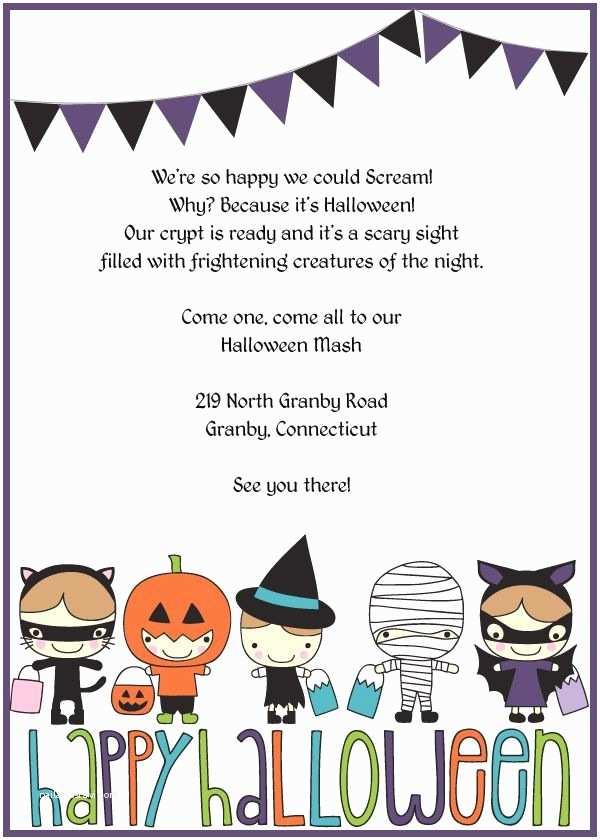 Kids Halloween Party Invitations Best 25 Halloween Invitations Kids Ideas On Pinterest