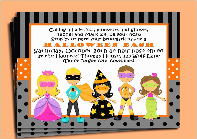 Kids Halloween Party Invitations Halloween Party Invitations Kids – Festival