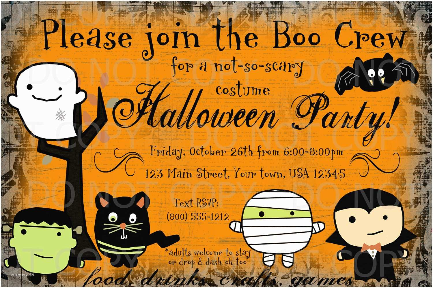 kids halloween party invitations kids halloween invitations