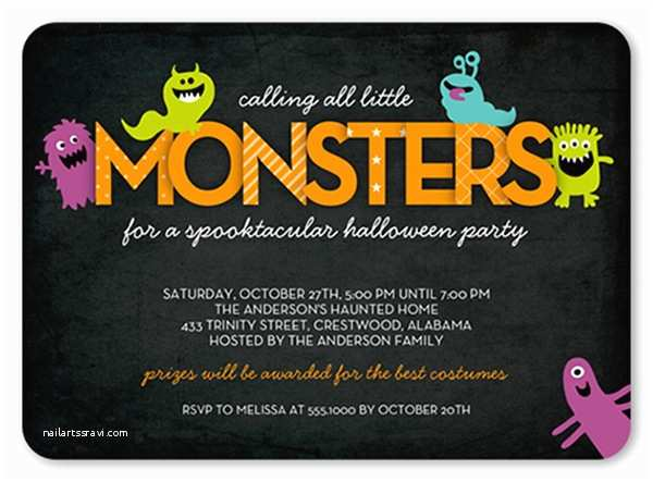 Kids Halloween Party Invitations the Best Halloween Party themes