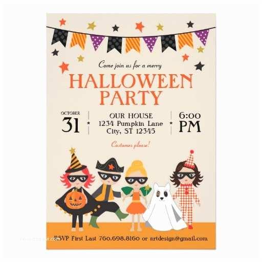 Kids Halloween Party S Vintage Kids Halloween Party