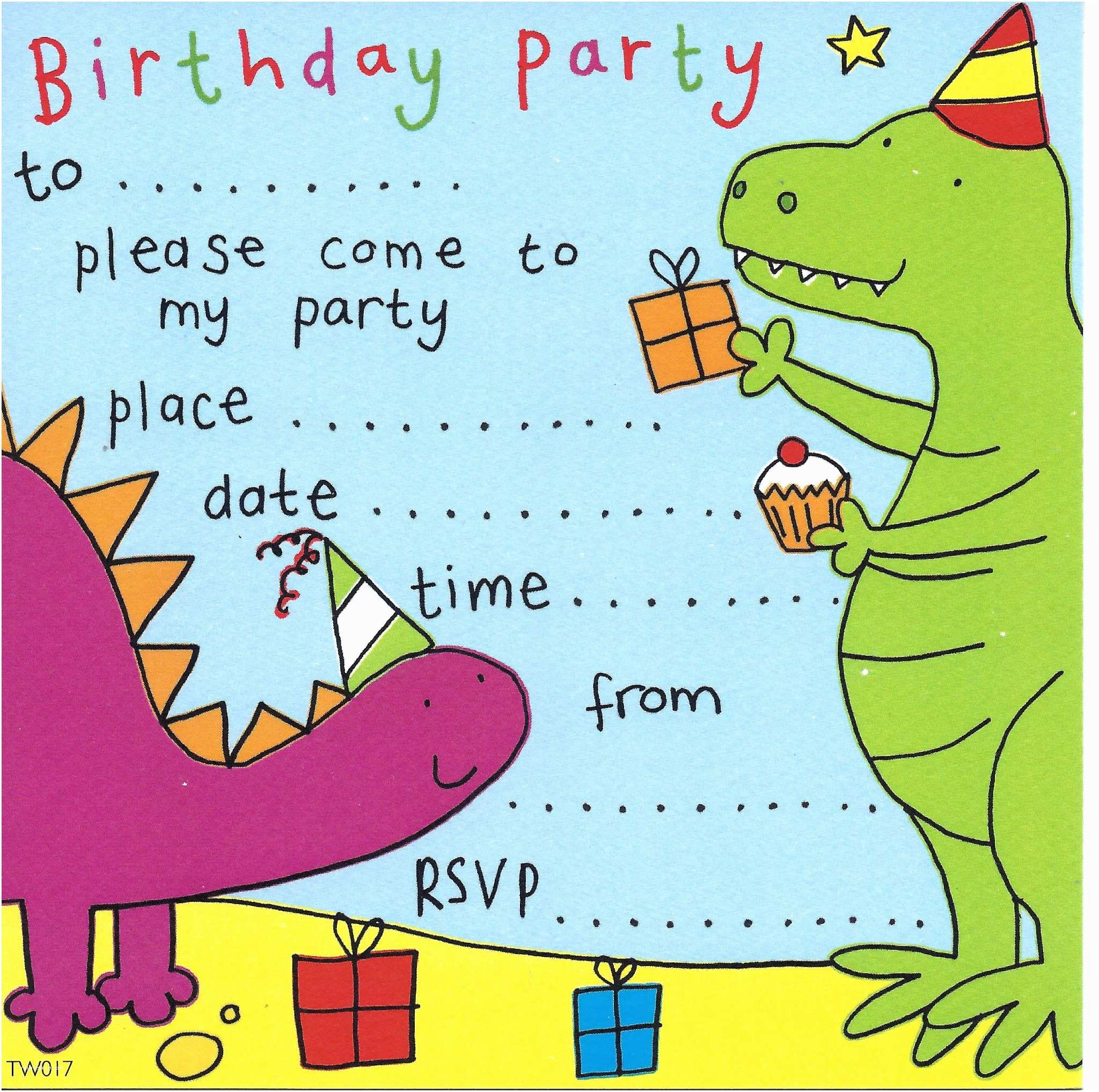 Kids Party Invitations Party Invitations Birthday Party Invitations Kids Party