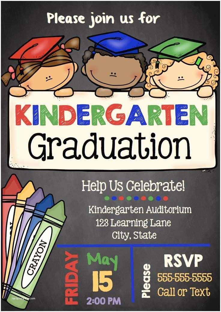 Kindergarten Graduation Invitations Best 25 Kindergarten Graduation Ideas On Pinterest
