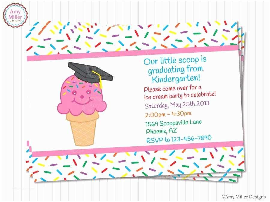 Kindergarten Graduation Invitations Kindergarten and Preschool Graduation Invitations