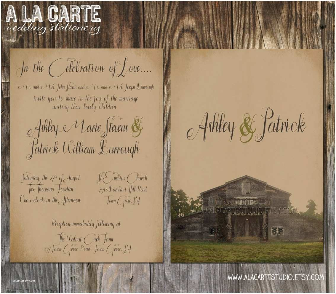 Kraft Paper Wedding Invitations Kraft Paper Wedding Invitations Template Resume Builder