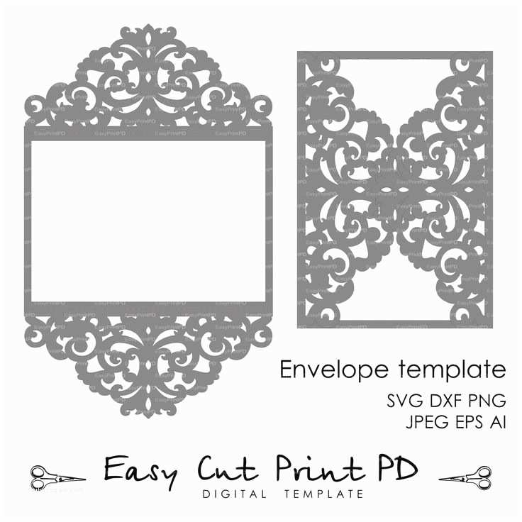 Lace Pattern Wedding Invitations 25 Best Ideas About Silhouette Cameo Wedding On Pinterest