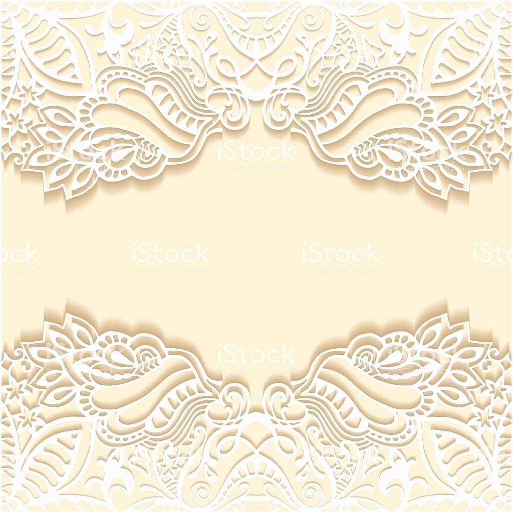 Lace Pattern Wedding Invitations Abstract Background Frame Border Lace Pattern Wedding
