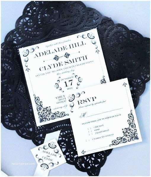 Lace Print Wedding Invitations 16 Best Vintage Type Wedding Invitations Images On