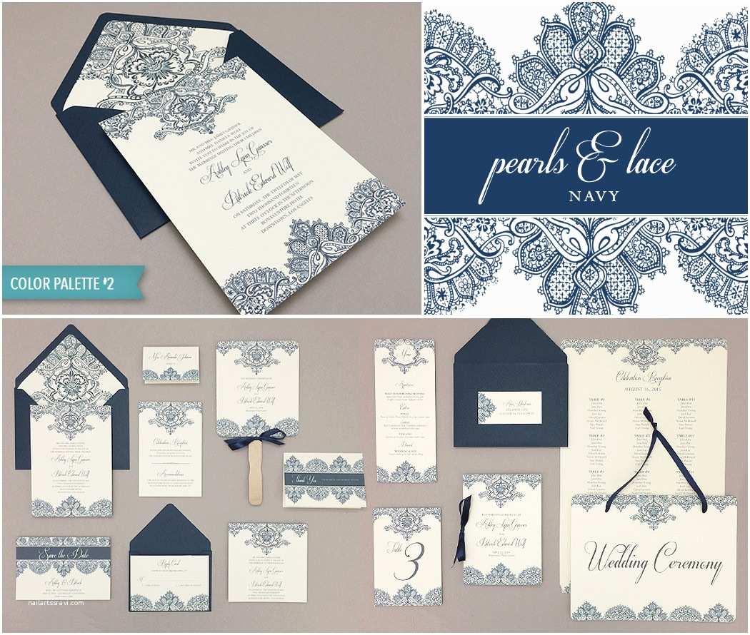 Lace Print Wedding Invitations Diy Elegant Lace Wedding Invitation Template Suite