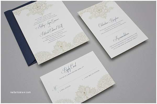Lace Print Wedding Invitations Diy Elegant Lace Wedding Invitation Template Suite