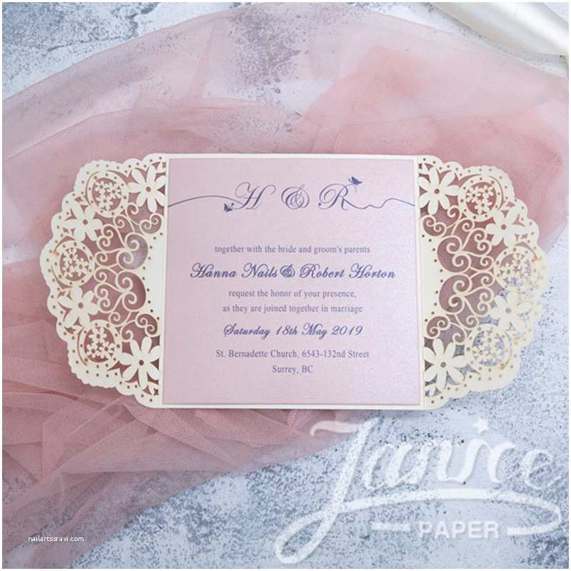 Lace Wedding Invitations Cheap wholesale Cheap Laser Cut Lace Wedding Invitations Wpl0042