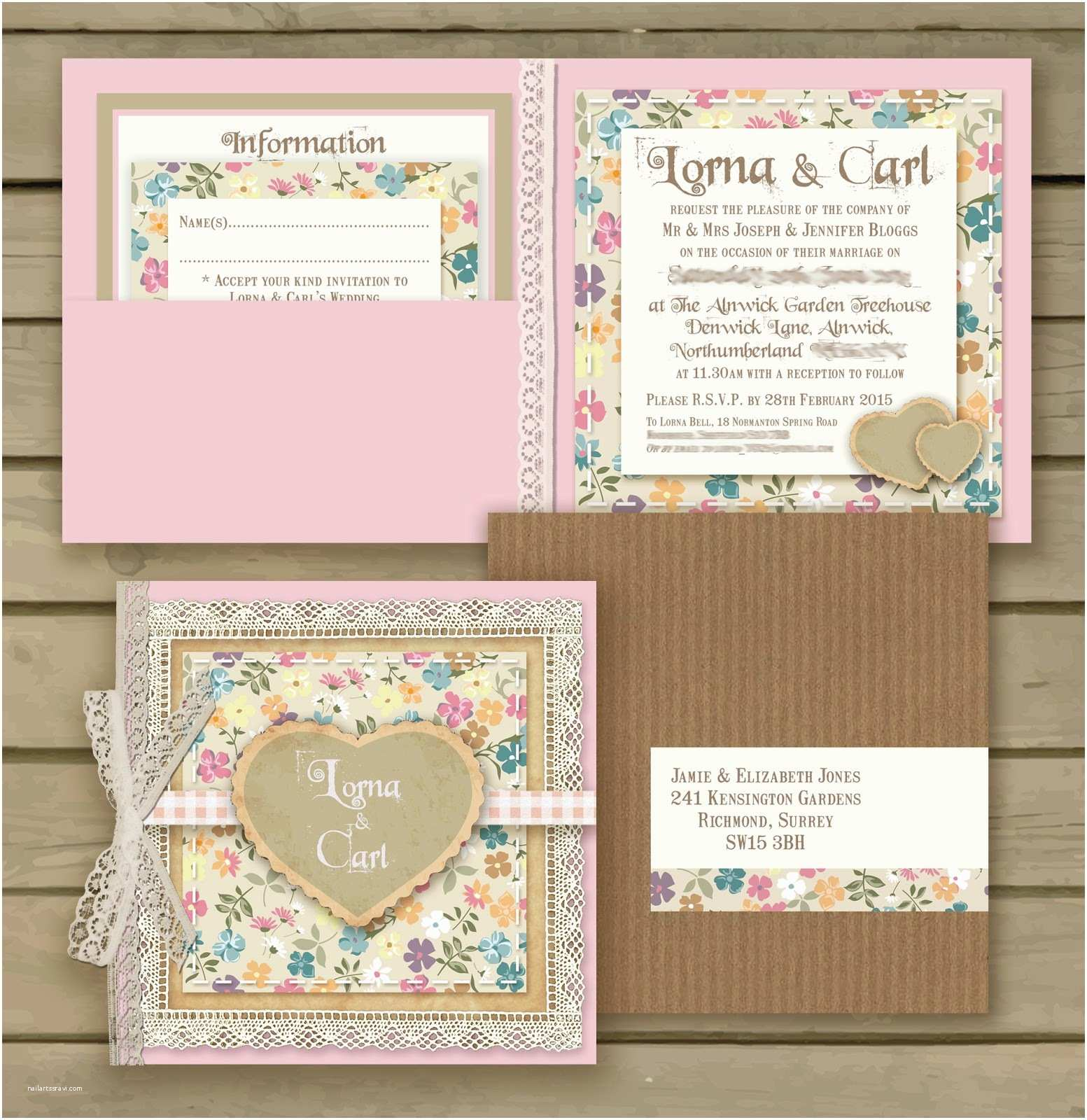 Lace Wedding Invitations Vistaprint Knots and Kisses Wedding Stationery December 2014