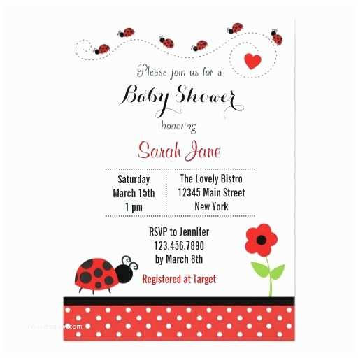 Ladybug Baby Shower Invitation Best 25 Ladybug Baby Showers Ideas On Pinterest