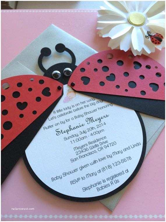 Ladybug Baby Shower Invitation Best 25 Ladybug Baby Showers Ideas On