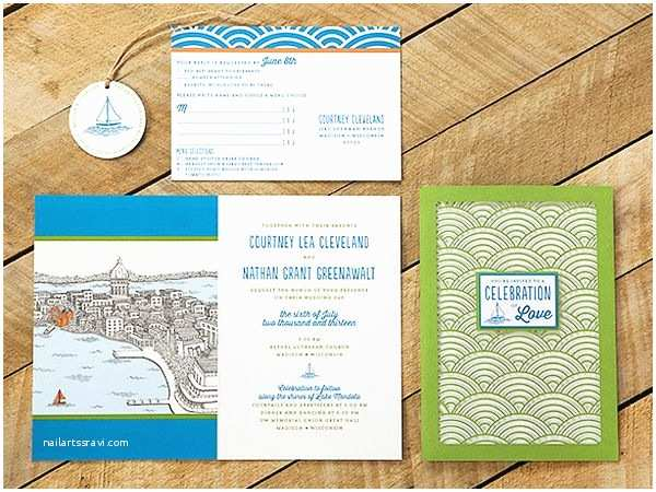 Lake Wedding Invitations 17 Best Images About Travel Inspired Details On