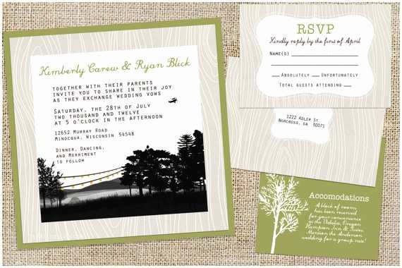 Lake Wedding Invitations Unavailable Listing On Etsy