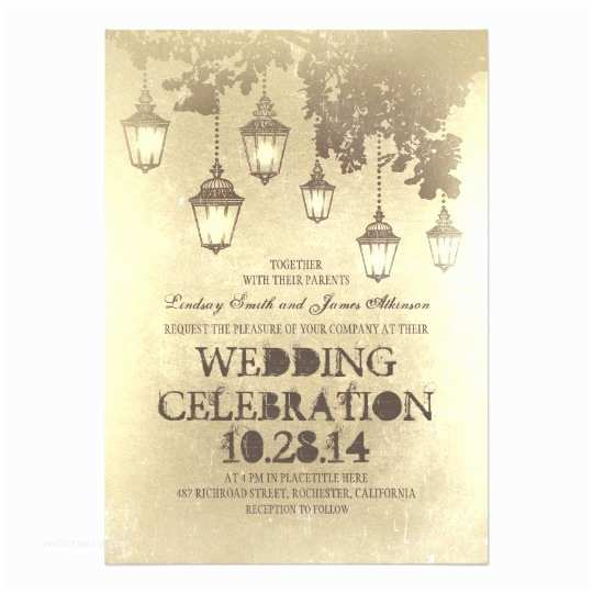 Lantern Wedding Invitations Victorian Lanterns Wedding Invitations