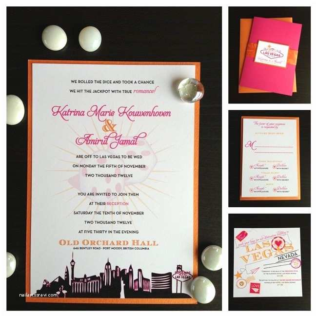 Las Vegas Wedding Invitations 17 Best Ideas About Vegas Wedding Invitations On Pinterest