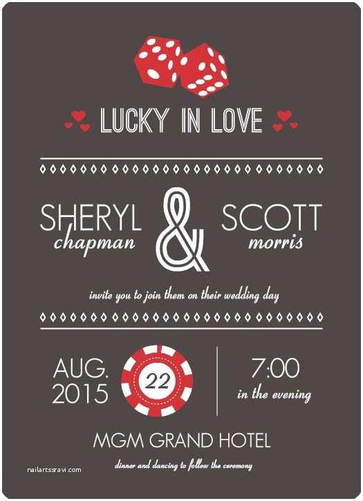 Las Vegas Wedding Invitations 25 Best Ideas About Vegas Wedding Invitations On
