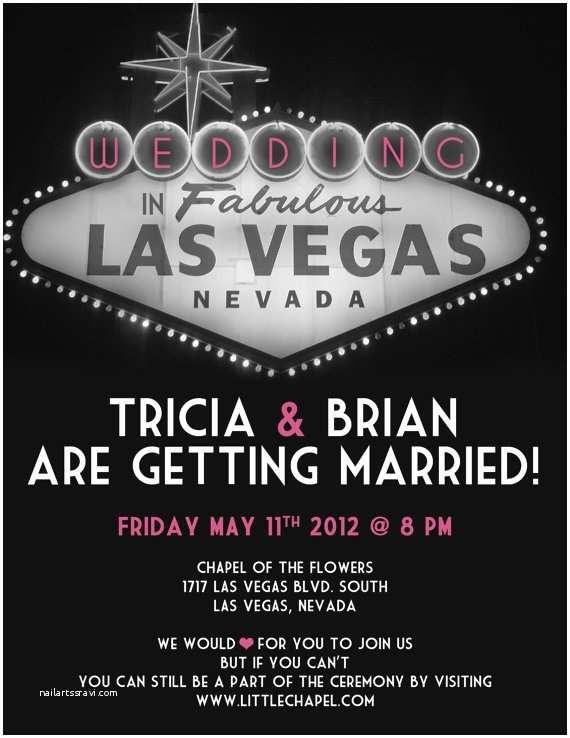 Las Vegas Wedding Invitations Vegas Wedding Invitation Wedding Ideas Vegas