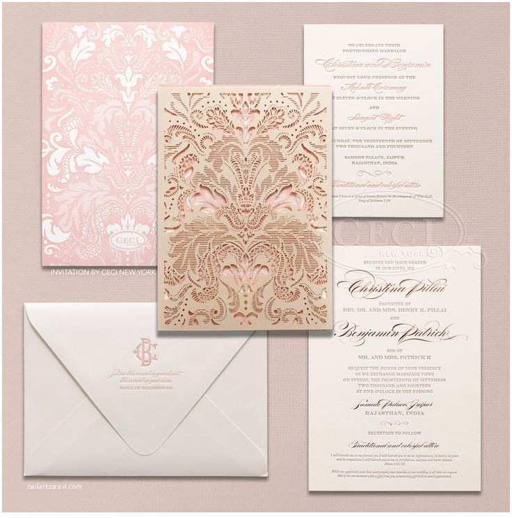 Laser Cut Indian Wedding Invitations 17 Best Ideas About Luxury Wedding Invitations On