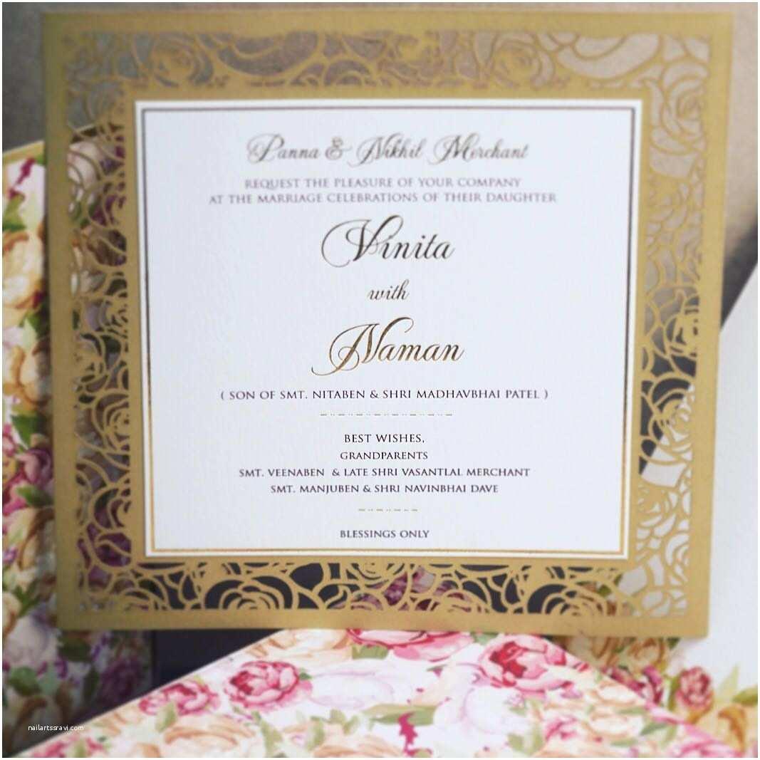 Laser Cut Indian Wedding Invitations Wedding Invitation Cards Indian Wedding Cards Invites