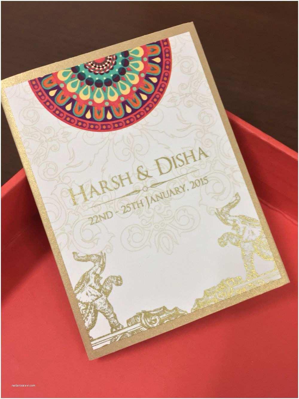 Laser Cut Indian Wedding Invitations Wedding Invitations Cards Indian Wedding Cards Invites