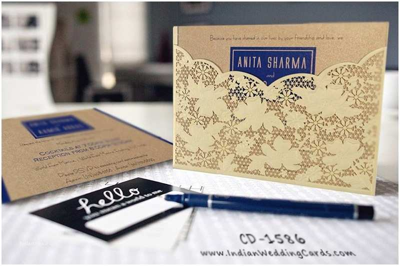 Laser Cut Indian Wedding Invitations Wedding Invitations Sale On Black Friday and Cyber Monday 2017