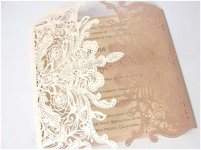 Laser Cut Lace Wedding Invitations Lace Wedding Invites Lace Wedding Invitations