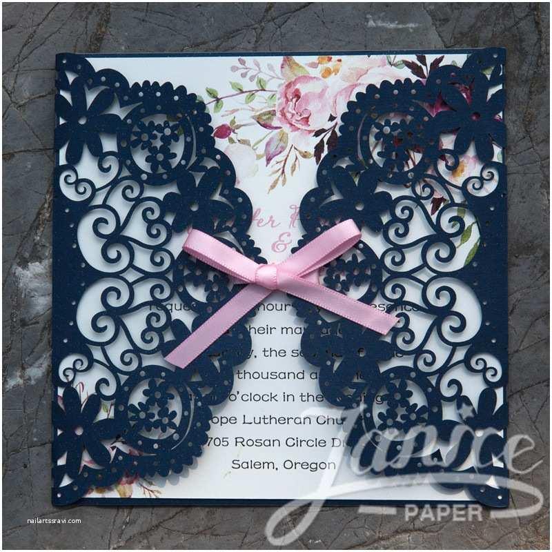 Laser Cut Lace Wedding Invitations wholesale Cheap Laser Cut Lace Wedding Invitations Wpl0042