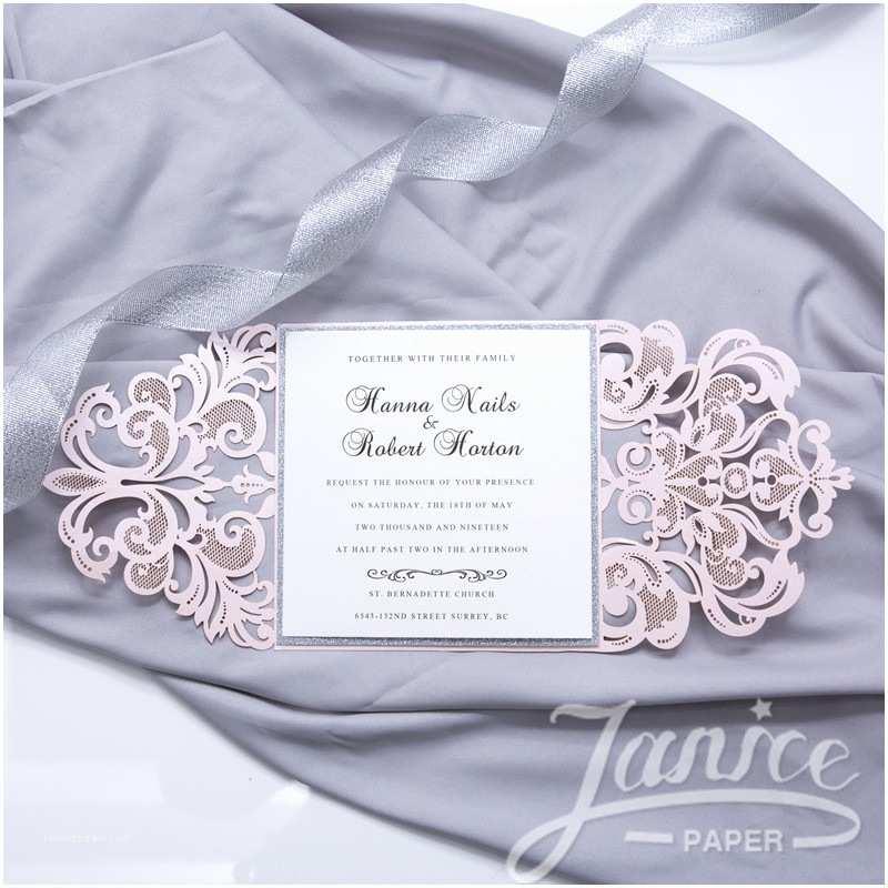 Laser Cut Pocket Wedding Invitations Gorgeous Lace Pocket Laser Cut wholesale Wedding