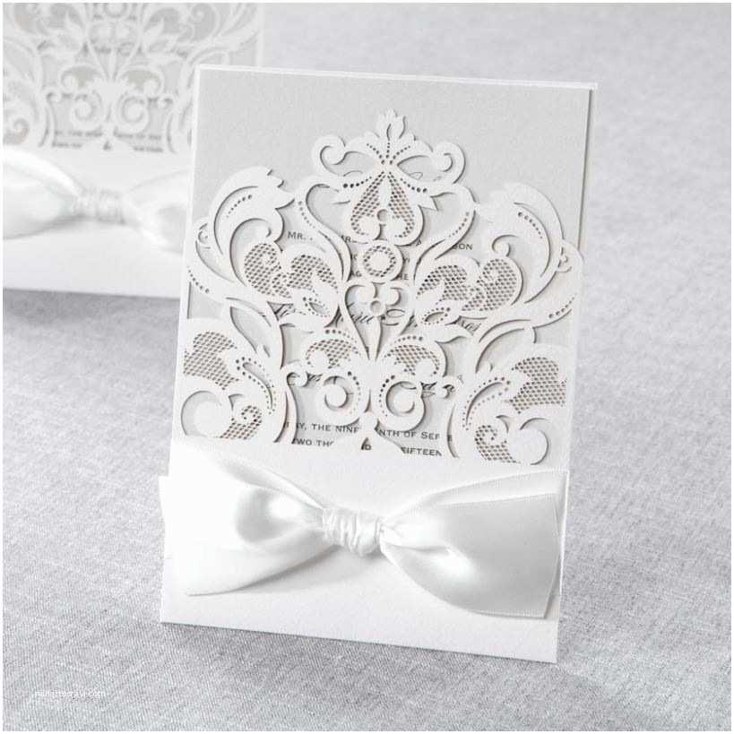 Laser Cut Pocket Wedding Invitations New Laser Cut Pocket Invitations at B Wedding Invitations