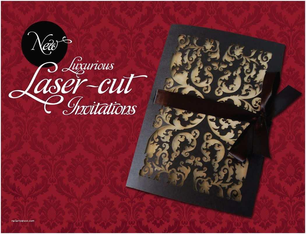 Laser Cut Wedding Invitations It S All Polkadots New Laser Cut Invitations