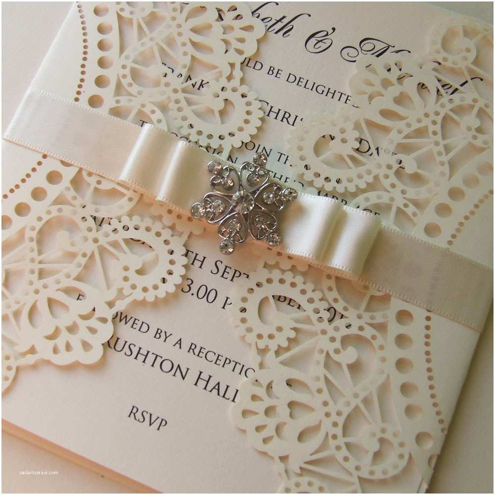 Laser Cut Wedding Invitations Laser Cut Wedding Invitations