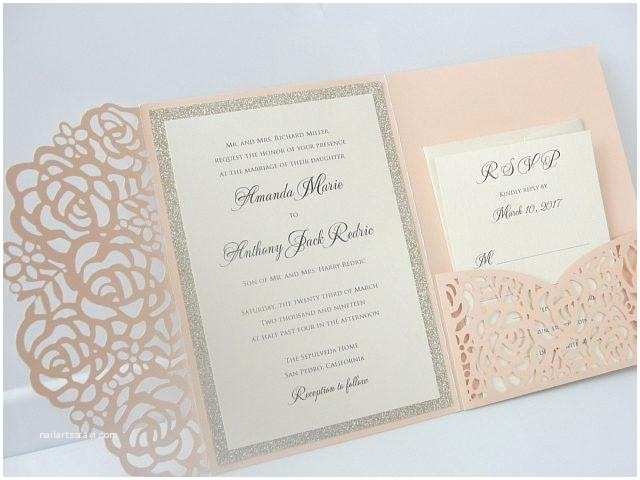 Laser Cut Wedding Invitations Near Me Colored Cardstock Paper Colors