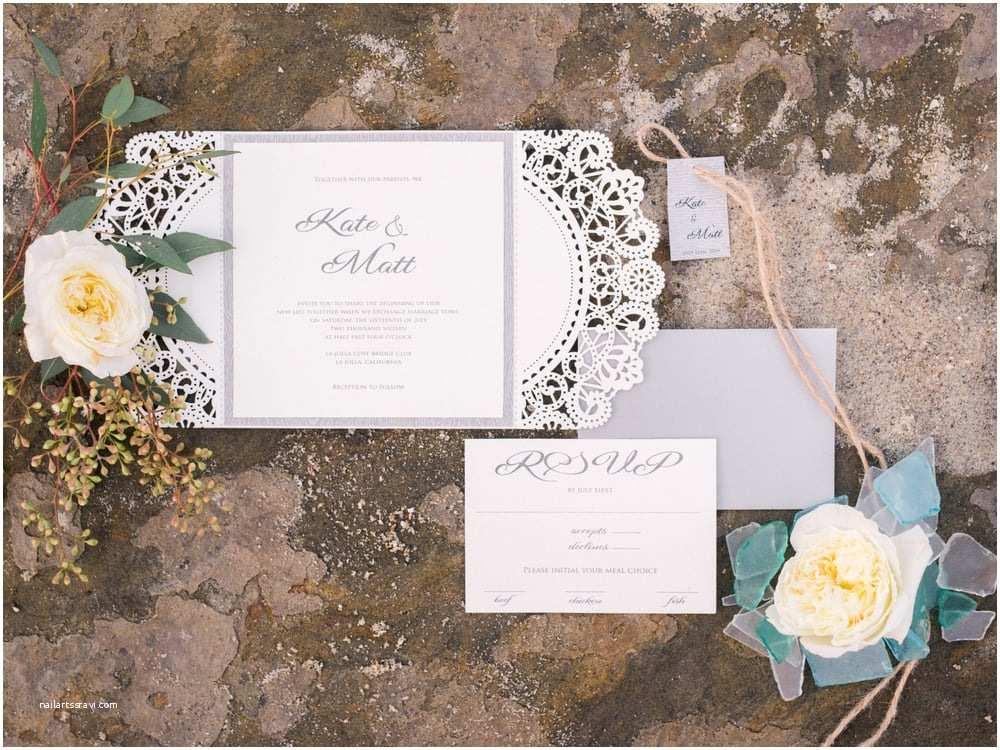 Laser Cut Wedding Invitations Near Me Laser Cut Wedding Invitation Suite Custom Colors and