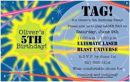 Laser Tag Birthday Invitations Laser Tag Birthday Party Invitations Ideas – Bagvania Free