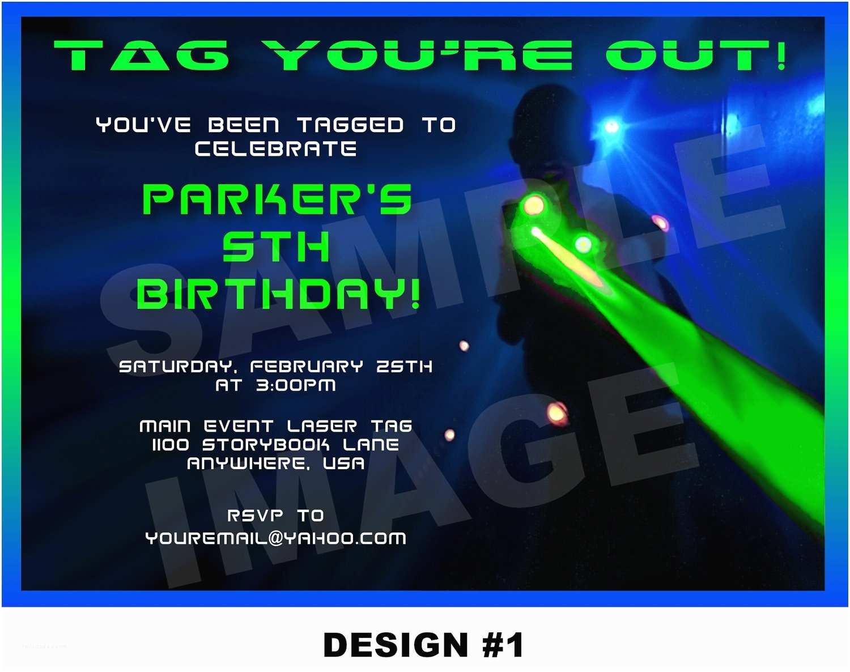 Laser Tag Birthday Invitations Laser Tag Birthday Party Invitations Ideas