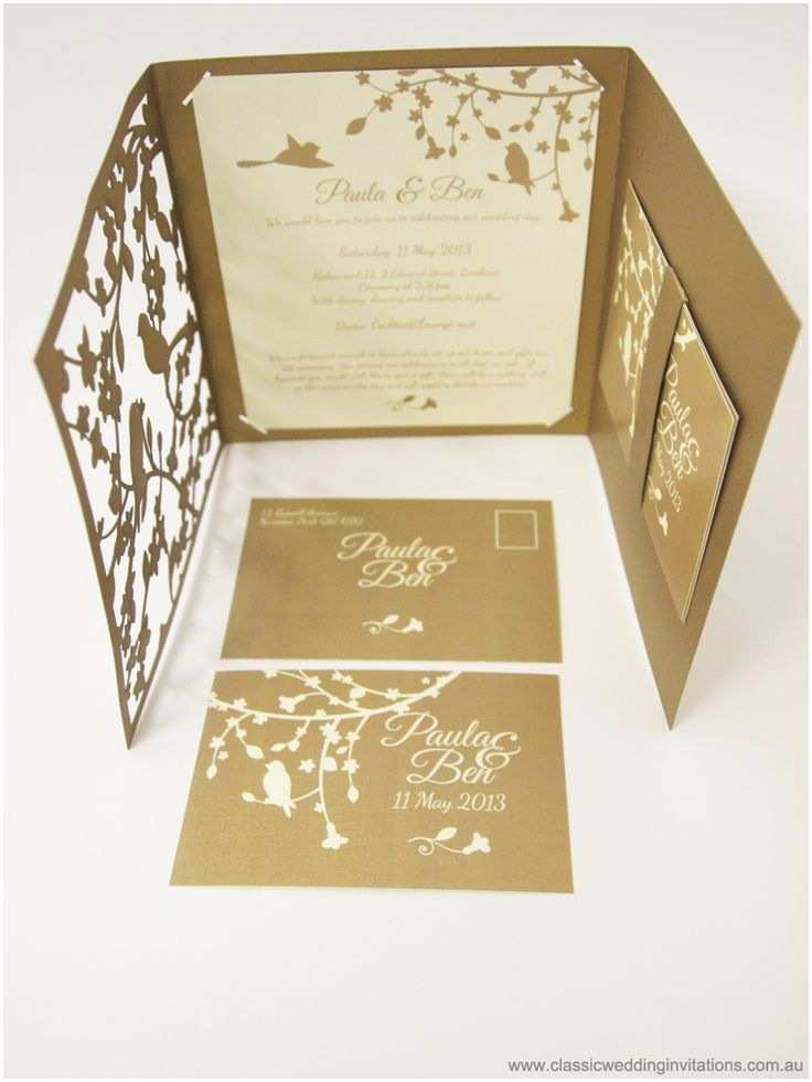 Laser Wedding Invitations 117 Best Laser Cut Wedding Invites Images On Pinterest
