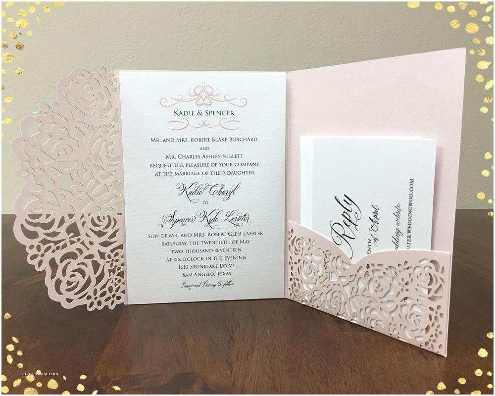 Laser Wedding Invitations Laser Cut Gatefold Wedding Invitations Various