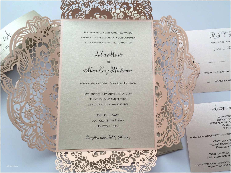 Laser Wedding Invitations Laser Cut Wedding Invitations