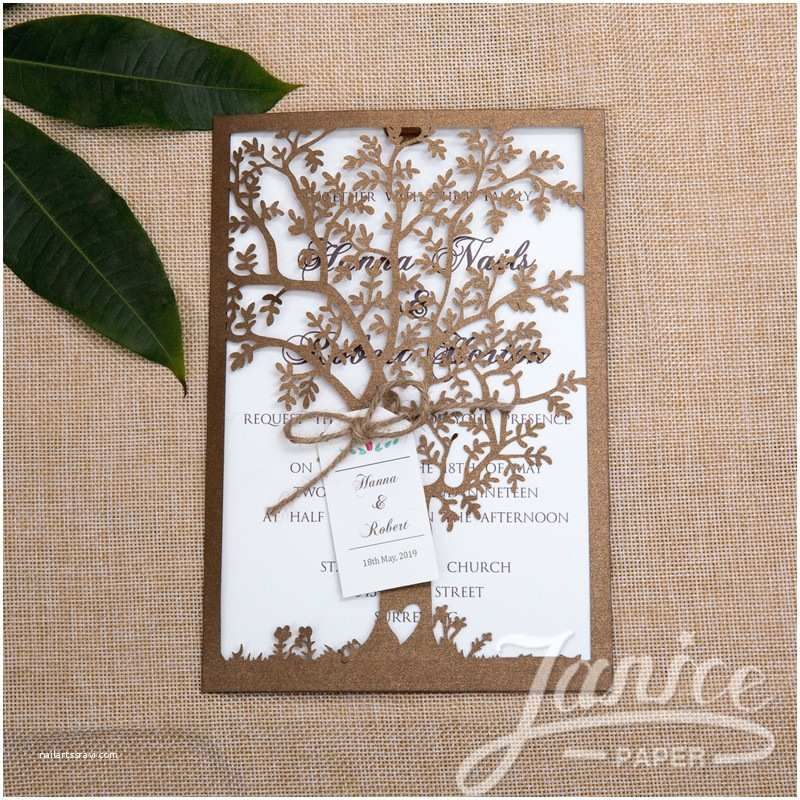 Laser Wedding Invitations wholesale Laser Cut Wedding Invites