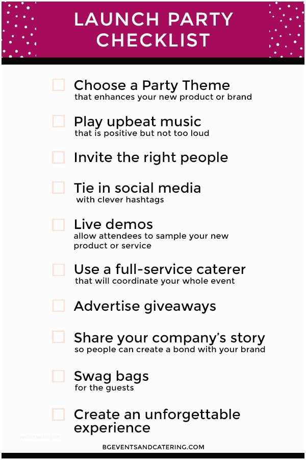 Launch Party Invitation Don T for these 10 Things at Your Next Product Launch