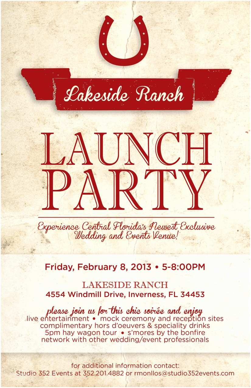 lakeside ranch launch party