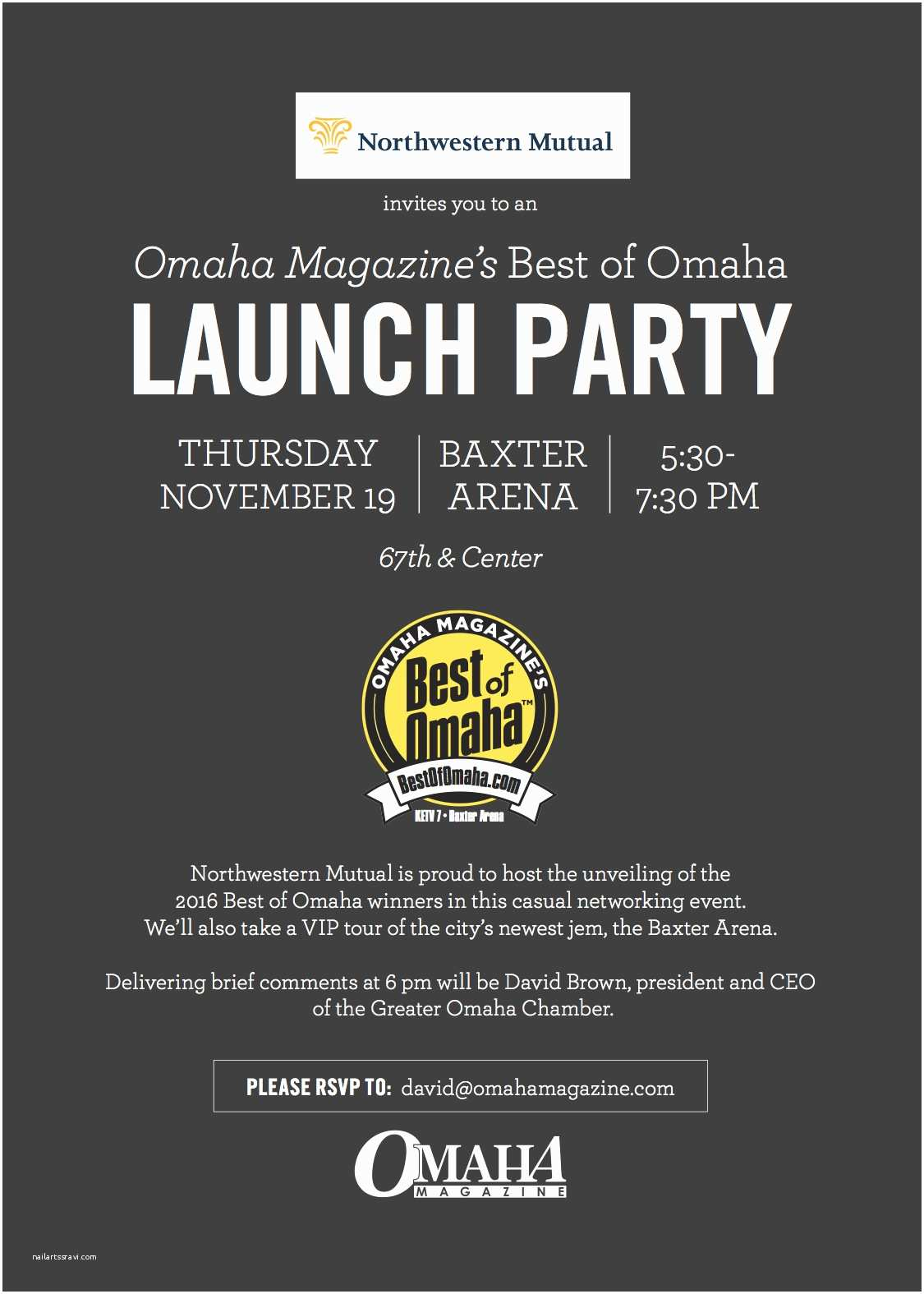 Launch Party Invitation Launch Party