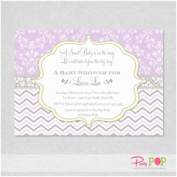 Lavender Baby Shower Invitations Baby Shower Invitation Templates Lavender Baby Shower