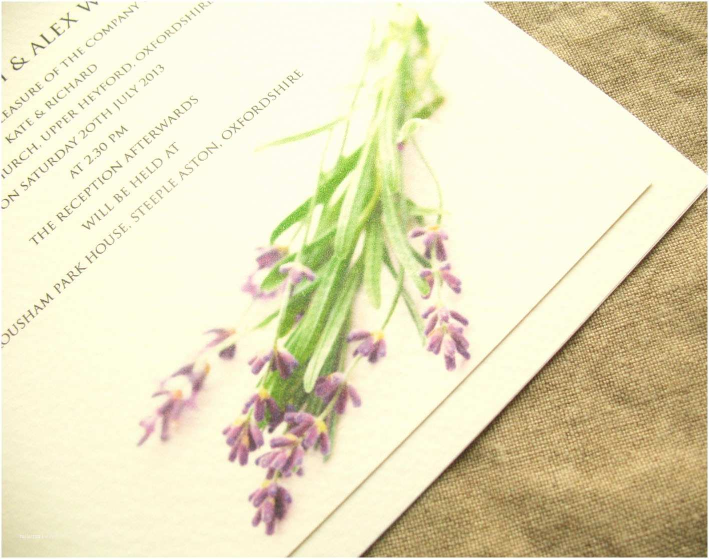 Lavender Wedding Invitations Inspiration For Weddings Invitations And