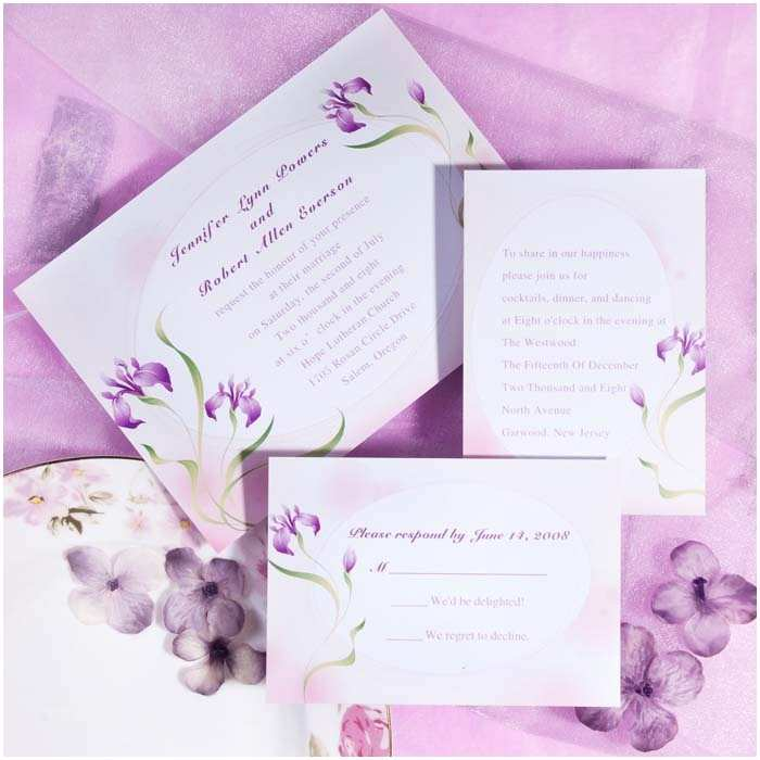 Lavender  Invitations Lavender Inspired  Color Ideas And