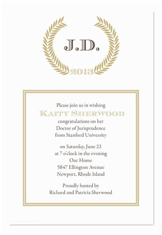 Law School Graduation Invitations Graduation Announcements Products and Law School On Pinterest