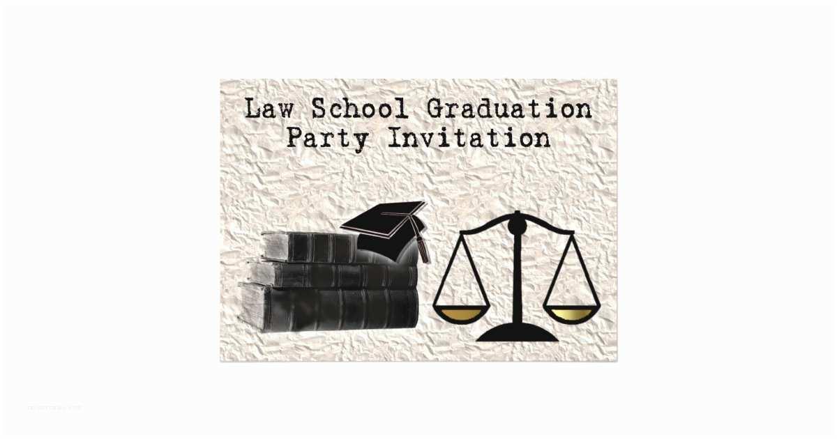 Law School Graduation Invitations Law School Graduation Party Invitation Scales Book